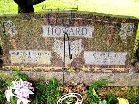HOWARD, CHARLIE P. - Benton County, Arkansas | CHARLIE P. HOWARD - Arkansas Gravestone Photos