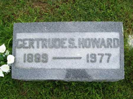 HOWARD, GERTRUDE S. - Benton County, Arkansas | GERTRUDE S. HOWARD - Arkansas Gravestone Photos