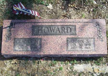 HOWARD, JOHN SAUL - Benton County, Arkansas | JOHN SAUL HOWARD - Arkansas Gravestone Photos