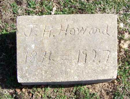 HOWARD, J. H. - Benton County, Arkansas | J. H. HOWARD - Arkansas Gravestone Photos