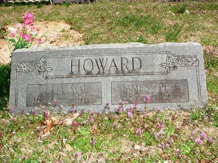 "HOWARD, JAMES FELIX ""PETE"" - Benton County, Arkansas | JAMES FELIX ""PETE"" HOWARD - Arkansas Gravestone Photos"