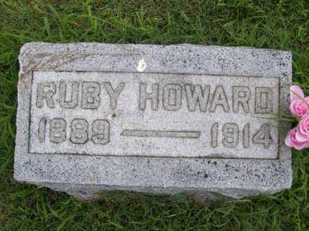HOWARD, RUBY BLANCHE - Benton County, Arkansas   RUBY BLANCHE HOWARD - Arkansas Gravestone Photos