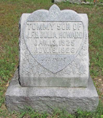 HOWARD, TOMMY - Benton County, Arkansas | TOMMY HOWARD - Arkansas Gravestone Photos