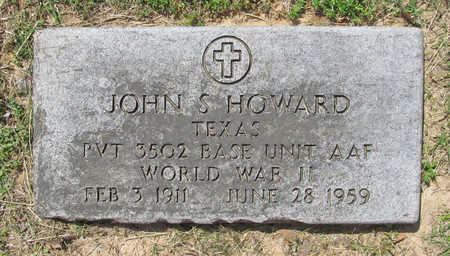 HOWARD (VETERAN WWII), JOHN S - Benton County, Arkansas | JOHN S HOWARD (VETERAN WWII) - Arkansas Gravestone Photos