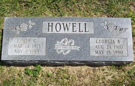 HOWELL, GEORGIA B. - Benton County, Arkansas | GEORGIA B. HOWELL - Arkansas Gravestone Photos