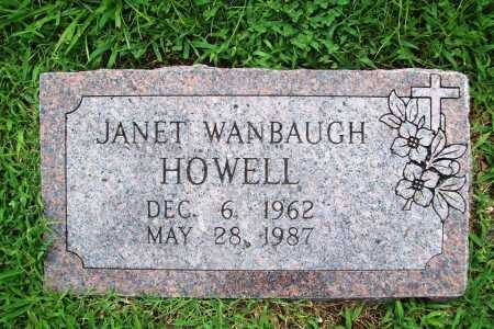 HOWELL, JANET - Benton County, Arkansas | JANET HOWELL - Arkansas Gravestone Photos