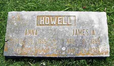 HOWELL, ANNA - Benton County, Arkansas | ANNA HOWELL - Arkansas Gravestone Photos