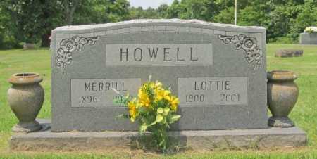 HOWELL, LOTTIE - Benton County, Arkansas | LOTTIE HOWELL - Arkansas Gravestone Photos