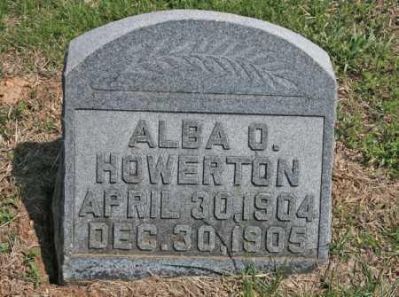 HOWERTON, ALBA O. - Benton County, Arkansas | ALBA O. HOWERTON - Arkansas Gravestone Photos