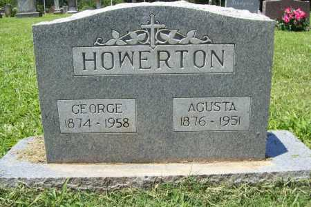 HOWERTON, AGUSTA - Benton County, Arkansas | AGUSTA HOWERTON - Arkansas Gravestone Photos