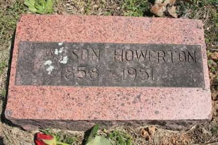 HOWERTON, J. WILSON - Benton County, Arkansas | J. WILSON HOWERTON - Arkansas Gravestone Photos