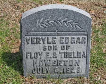 HOWERTON, VERYLE EDGAR - Benton County, Arkansas | VERYLE EDGAR HOWERTON - Arkansas Gravestone Photos