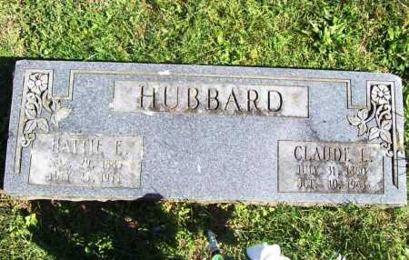 HUBBARD, HATTIE E. - Benton County, Arkansas | HATTIE E. HUBBARD - Arkansas Gravestone Photos
