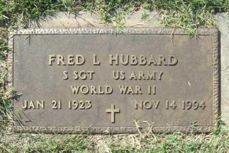 HUBBARD (VETERAN WWII), FRED L - Benton County, Arkansas | FRED L HUBBARD (VETERAN WWII) - Arkansas Gravestone Photos