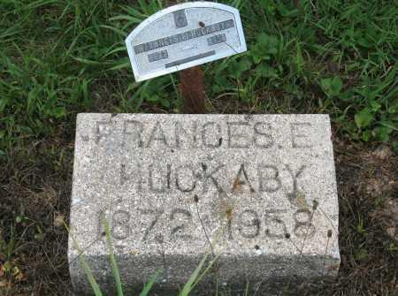 HUCKABY, FRANCES E. - Benton County, Arkansas | FRANCES E. HUCKABY - Arkansas Gravestone Photos
