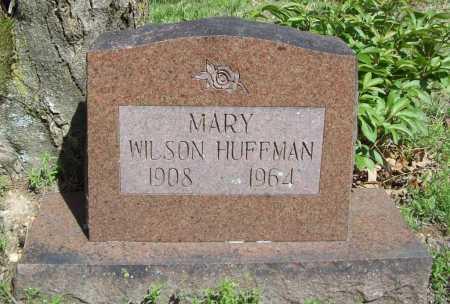 HUFFMAN, MARY - Benton County, Arkansas   MARY HUFFMAN - Arkansas Gravestone Photos