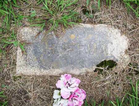 HUFFMAN, UNKNOWN - Benton County, Arkansas   UNKNOWN HUFFMAN - Arkansas Gravestone Photos
