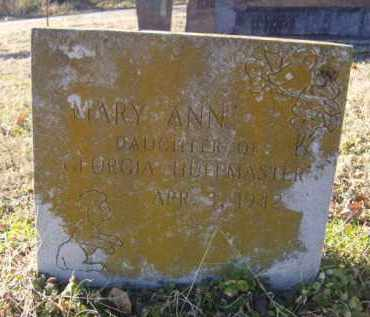 HUFFMASTER, MARY ANN - Benton County, Arkansas | MARY ANN HUFFMASTER - Arkansas Gravestone Photos