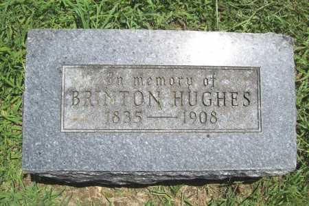 HUGHES, BRINTON - Benton County, Arkansas   BRINTON HUGHES - Arkansas Gravestone Photos