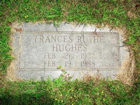 HUGHES, FRANCES RUTHE - Benton County, Arkansas   FRANCES RUTHE HUGHES - Arkansas Gravestone Photos