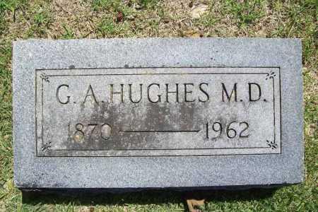 HUGHES, G. A. - Benton County, Arkansas | G. A. HUGHES - Arkansas Gravestone Photos
