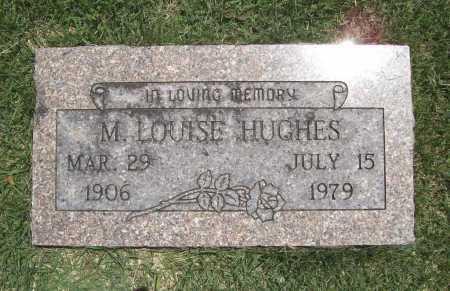 HUGHES, M. LOUISE - Benton County, Arkansas   M. LOUISE HUGHES - Arkansas Gravestone Photos