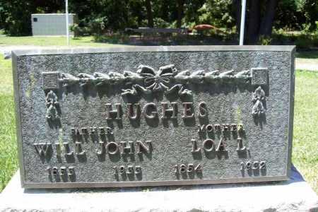 HUGHES, WILL JOHN - Benton County, Arkansas | WILL JOHN HUGHES - Arkansas Gravestone Photos
