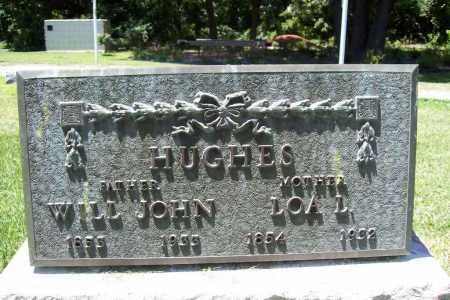 HUGHES, WILL JOHN - Benton County, Arkansas | WILL JOHN HUGHES - Arkansas Gravestone Photos
