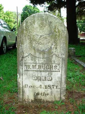 HUGHS, W. M. - Benton County, Arkansas | W. M. HUGHS - Arkansas Gravestone Photos