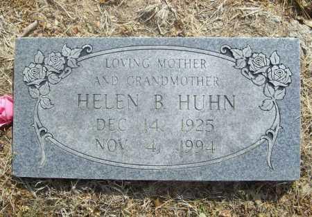 HUHN, HELEN B. - Benton County, Arkansas | HELEN B. HUHN - Arkansas Gravestone Photos
