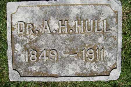 HULL, A. H. - Benton County, Arkansas | A. H. HULL - Arkansas Gravestone Photos