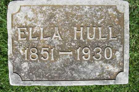 HULL, ELLA - Benton County, Arkansas | ELLA HULL - Arkansas Gravestone Photos