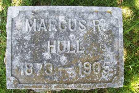 HULL, MARCUS R. - Benton County, Arkansas | MARCUS R. HULL - Arkansas Gravestone Photos