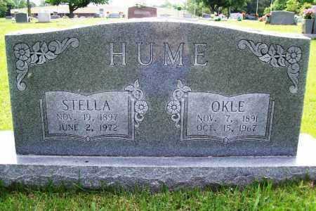 HUME, STELLA - Benton County, Arkansas | STELLA HUME - Arkansas Gravestone Photos