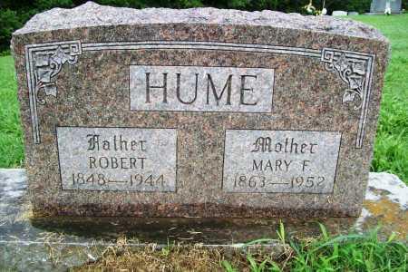 HUME, ROBERT - Benton County, Arkansas | ROBERT HUME - Arkansas Gravestone Photos