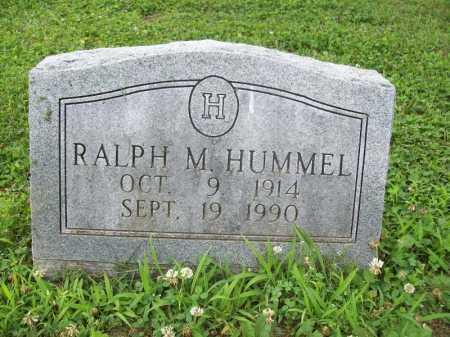 HUMMEL, RALPH M. - Benton County, Arkansas | RALPH M. HUMMEL - Arkansas Gravestone Photos