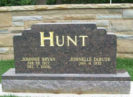 "HUNT (FAMOUS), JOHNNIE BRYAN ""J. B."" - Benton County, Arkansas 