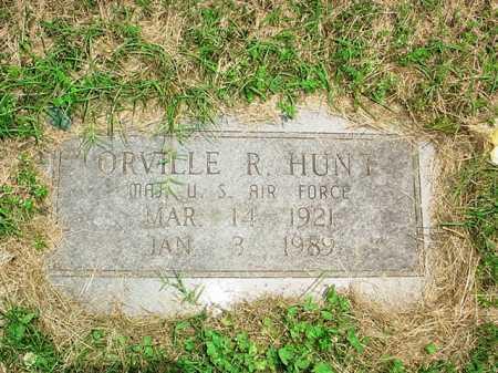 HUNT (VETERAN), ORVILLE R. - Benton County, Arkansas | ORVILLE R. HUNT (VETERAN) - Arkansas Gravestone Photos