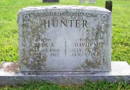 HUNTER, ELLA A. - Benton County, Arkansas | ELLA A. HUNTER - Arkansas Gravestone Photos