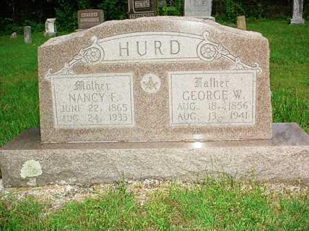 HURD, GEORGE W. - Benton County, Arkansas | GEORGE W. HURD - Arkansas Gravestone Photos