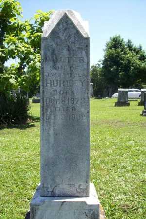 HURLEY, WALTER - Benton County, Arkansas | WALTER HURLEY - Arkansas Gravestone Photos