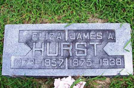 HURST, JAMES A - Benton County, Arkansas | JAMES A HURST - Arkansas Gravestone Photos