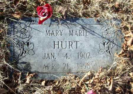 HURT, MARY MARIE - Benton County, Arkansas | MARY MARIE HURT - Arkansas Gravestone Photos
