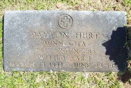 HURT (VETERAN WWI), PAYTON - Benton County, Arkansas | PAYTON HURT (VETERAN WWI) - Arkansas Gravestone Photos
