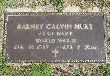 HURT (VETERAN WWII), BARNEY CALVIN - Benton County, Arkansas | BARNEY CALVIN HURT (VETERAN WWII) - Arkansas Gravestone Photos