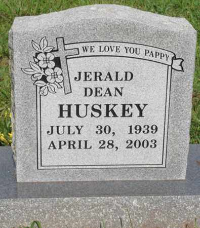 HUSKEY, JERALD DEAN - Benton County, Arkansas | JERALD DEAN HUSKEY - Arkansas Gravestone Photos