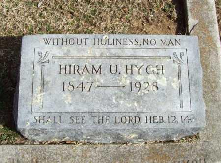 HYGH, HIRAM U. - Benton County, Arkansas | HIRAM U. HYGH - Arkansas Gravestone Photos