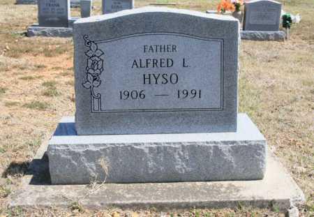 HYSO, ALFRED L. - Benton County, Arkansas   ALFRED L. HYSO - Arkansas Gravestone Photos