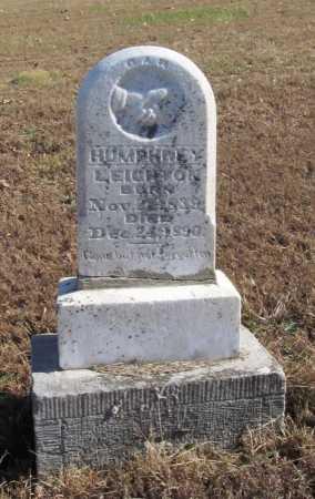 LEIGHTON, HUMPHREY - Benton County, Arkansas   HUMPHREY LEIGHTON - Arkansas Gravestone Photos