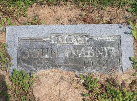 INABNIT, JOHN - Benton County, Arkansas | JOHN INABNIT - Arkansas Gravestone Photos